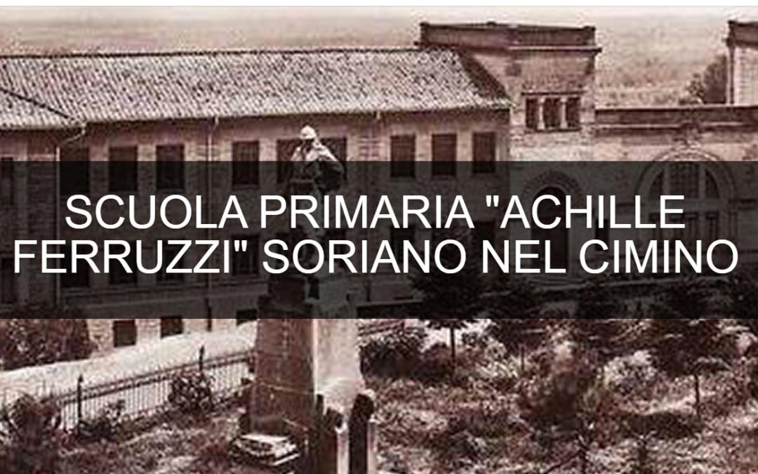 """Spostamento classi seconde Scuola Primaria """"Achille Ferruzzi"""""""