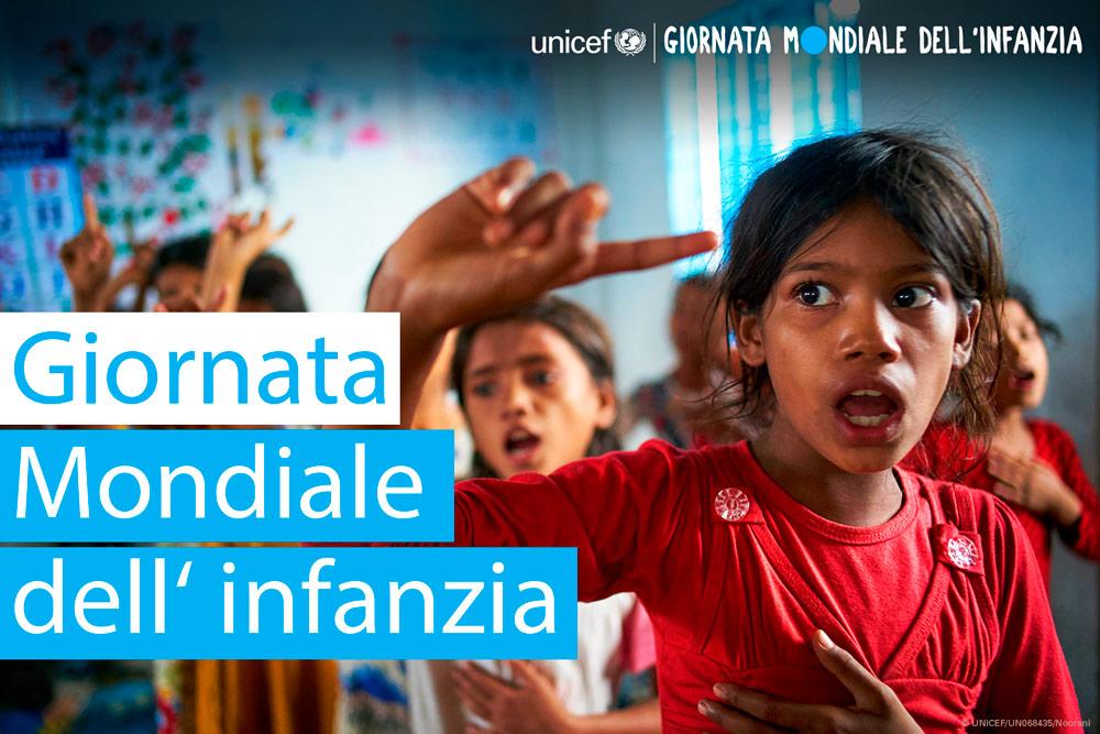 20 Novembre: giornata mondiale dei diritti dell'infanzia e dell'adolescenza