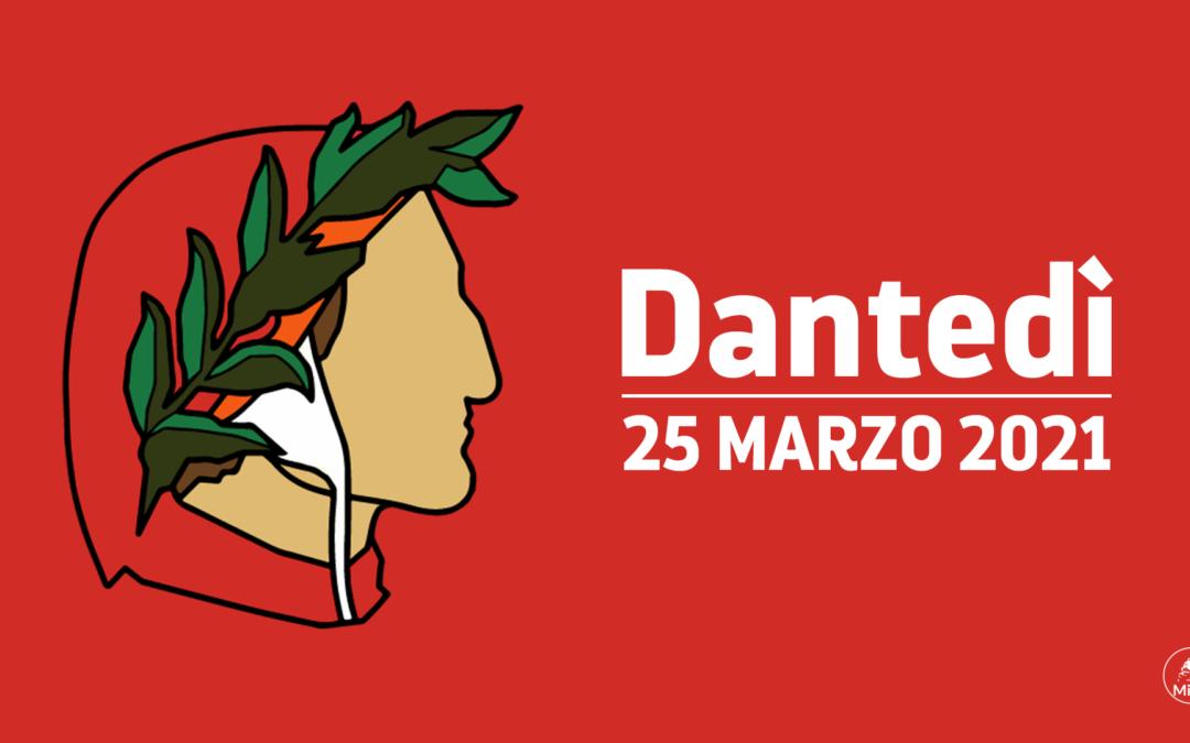 """25 marzo 2021: Dantedì e la seconda edizione del flashmob digitale – letterario dell'Istituto """"Ernesto Monaci"""""""